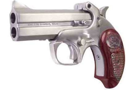 """Bond Arms BASSIV357 Arms Snakeslayer IV .357 4.25"""" FS Stainless Wood"""