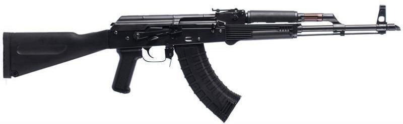 AK-47 Semi-Auto Rifle Riley Defense, 7.62x39, Forged Front Trunnion, Polymer Furniture - RAK-47-P