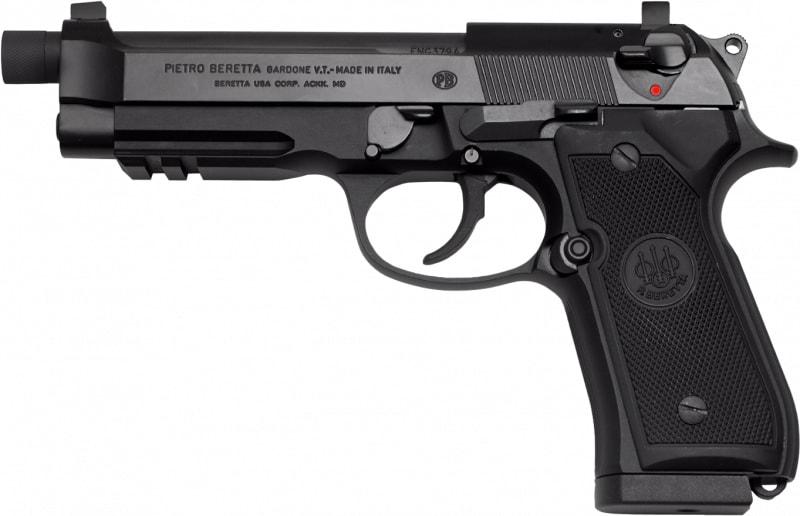 Beretta J9A9F101 92A1 THRD w/SPRSR STS 17R