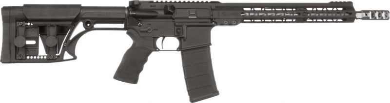 """ArmaLite M153GN13 M-15 Competition Rifle Semi-Auto .223/5.56 NATO 16"""" MB 30+1 MBA-1 Stock Black Hard Coat Anodized/Phosphate"""