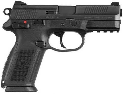 "FN FNX-9 66822 Semi-Auto Handgun 9mm Luger 4"" Barrel 17rd Stainless Steel Slide Black Finish"