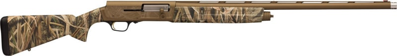 "Browning 0118412005 A5 Bolt 12GA 26"" 3.5"" Mossy Oak Shadow Grass Blades Synthetic Stock Aluminum Alloy Rcvr"