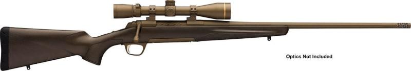 "Browning 035418282 X-Bolt Pro Bolt 6.5 Creedmoor 22"" 4+1 Carbon Fiber Burnt Bronze Cerakote Stock Burnt Bronze Cerakote"
