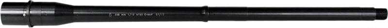 "Ballistic Advantage BABL308005M Modern Series Tactical Government Profile Midlength 308 Winchester/7.62 NATO 18"" Black"