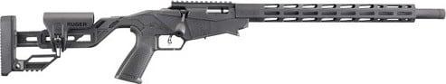 """Ruger 8404 Precision Rimfire 18"""" Threaded Barrel Matte 15-SHOT"""