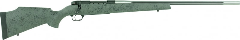 """Weatherby MARS65CMR4O Mark V Accumark RC Bolt 6.5 Creedmoor 24"""" 4+1 Stock Fluted Stainless Steel"""
