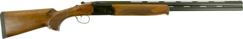 "Savage Arms Stevens 22154 555 Compact Over/Under 20GA 24"" 3"" Turkish Walnut Stock Black Aluminum Alloy"