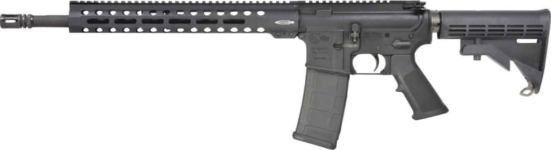 "Colt LE6920-R LE6920 Trooper Semi-Auto .223/5.56 NATO 16.1"" 30+1 6-Position Black Stock Hard Coat Anodized/Black Phosphate"