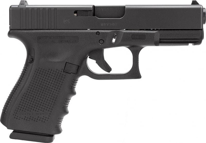 Glock 23 Gen 4 9mm 40 Smith & Wesson Pistol, 4.02in Barrel 10rd - PG2350201