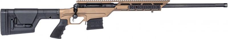 "Savage 22869 110BA Stealth Evolution Bolt 300 Winchester Magnum 24"" 5+1 Magpul PRS Bronze Cerakote Left Hand"
