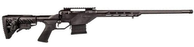 "Savage 10BA Stealth Bolt Action Rifle 308 Win 20"" Threaded Barrel 10 Rounds Collapsible Stock Black"