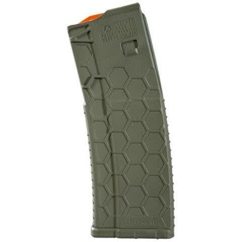 Hexmag AR-15 5.56/.223/.300 OD Green 30 Round Magazine - HX30ARODG