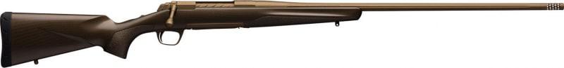 "Browning 035418291 X-Bolt Pro Bolt 6mm Creedmoor 22"" Fluted TB 4+1 Carbon Fiber Burnt Bronze Cerakote Stock Burnt Bronze Cerakote"