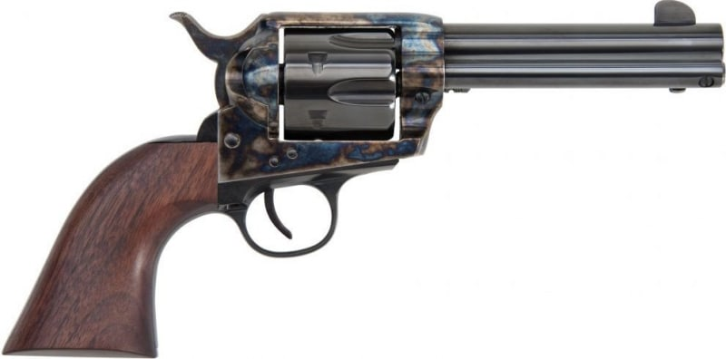 "1873 Single Action Revolver .357 Mag Frontier Model 4.75"" Color-Cased Hardened Finish, 6rd, by Traditions - SAT73-006"