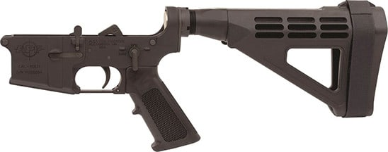 Alex Pro Firearms LP720 Lower Pistol With SIG Brace Complete