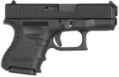 Glock 26 Gen 3 9mm SubCompact Handgun w/ FS and (2) 10 Rd Mags PI2650201