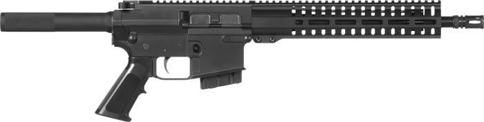CMMG 48A9E68 Pistol Banshee 100 MKW-15 10rd Black