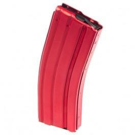 AR-15 30 Rd Mag, .223 / 5.56 Caliber RED Aluminum, By C-Products Defense Systems