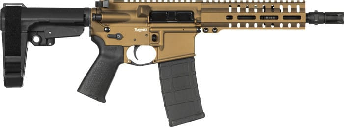 CMMG 30A81E2BB Pistol Banshee 300 MK4 .300AAC 30rd Burnt Bronze
