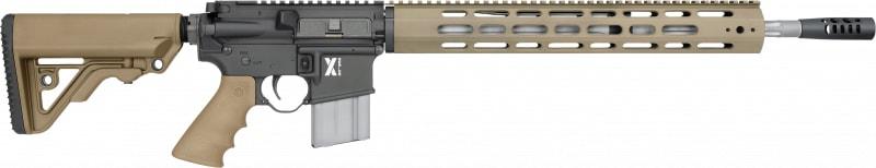 "Rock River Arms XAR1751T LAR-15 X-Series Carbine Tan Semi-Auto 18"" 30+1 RRA Operator CAR Stock Black"