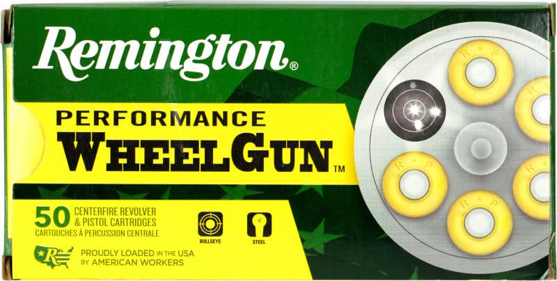 Remington 22273 RPW38SC Wheelgun 38SC 125 LRN - 50rd Box