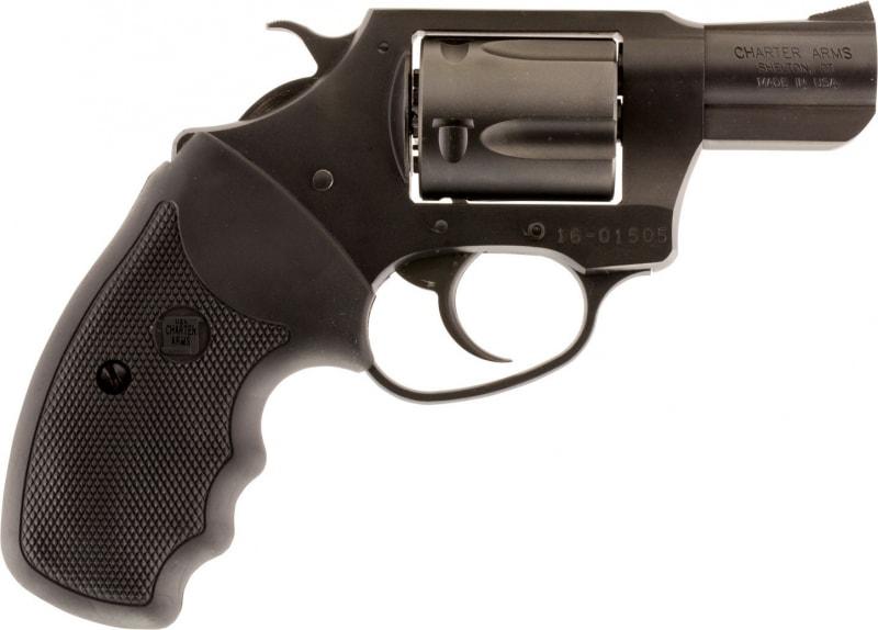 """Charter Arms 63820 Undercover Lite DA/SA 38 Special 2"""" 5 Black Rubber Nitride"""