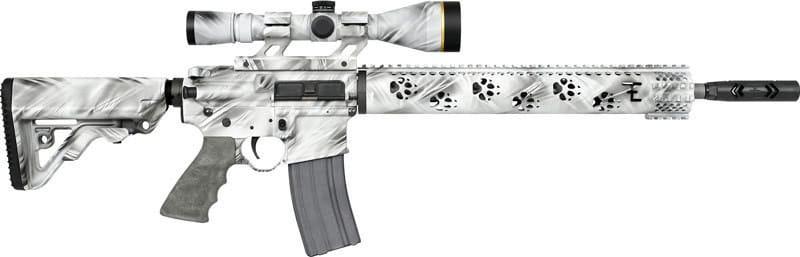 """Rock River Arms FE1515GST LAR15 PREDATOR2 .223 Wylde w/SCOPE Mount 16"""" Barrel Ghost"""