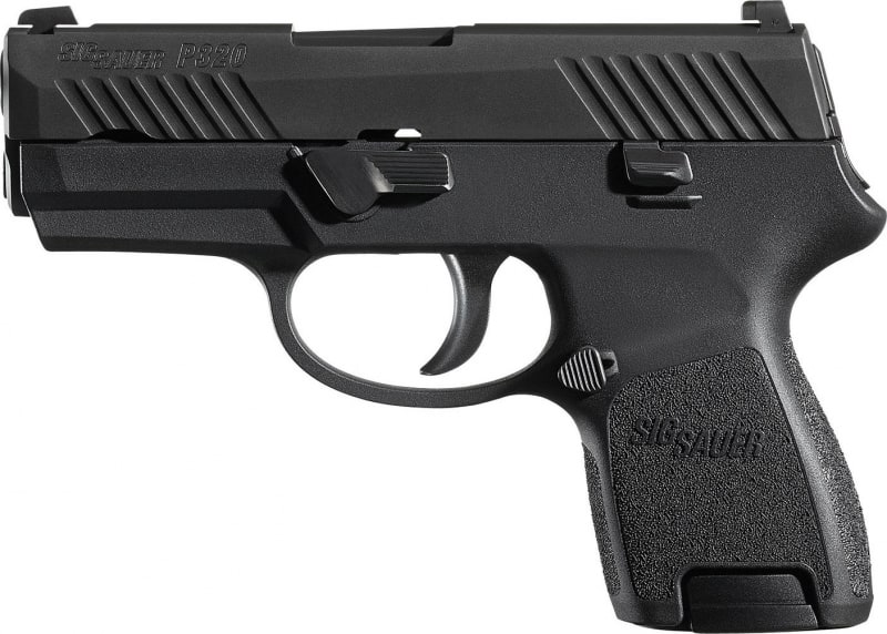 """Sig Sauer 320SC40BSS P320 Subcompact Double 40 S&W 3.6"""" 10+1 Polymer Grip Black"""