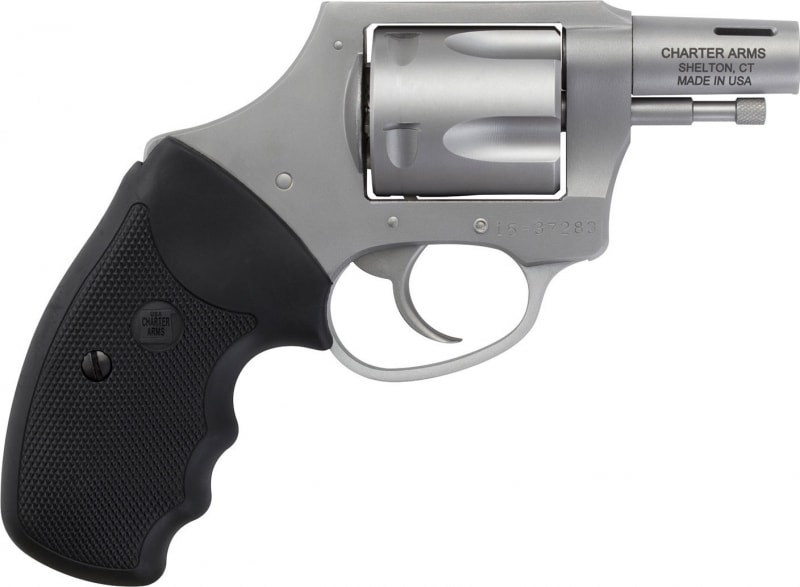 """Charter Arms 64429 Boomer DAO 44 Special 2"""" Ported 5 Black Rubber Grip Blacknitride+"""