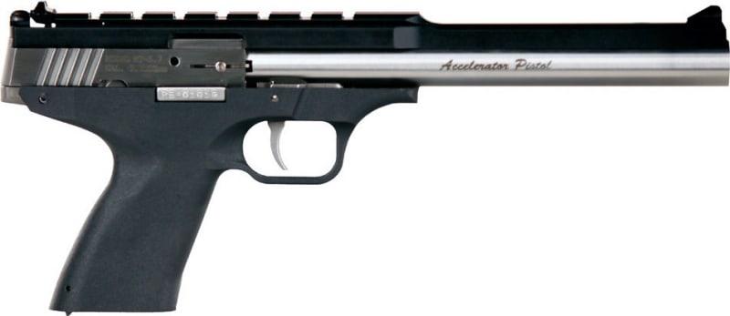 "Excel EA22301 Accelerator Pistol MP-22 Double 22 WMR 8.5"" 9+1 Black Polymer Grip SS"