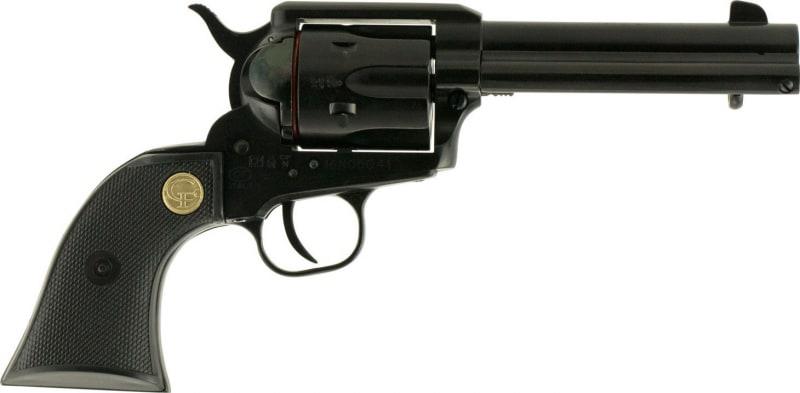 "Chiappa CF340.250D SSA 1873 Dual Single 22 WMR 4.75"" 6rd Black Synthetic Black"