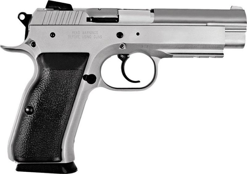 "EAA 999101 Witness Full Size Steel 9mm 4.5"" 17+1 Black Synthetic Grip Wonder Finish"