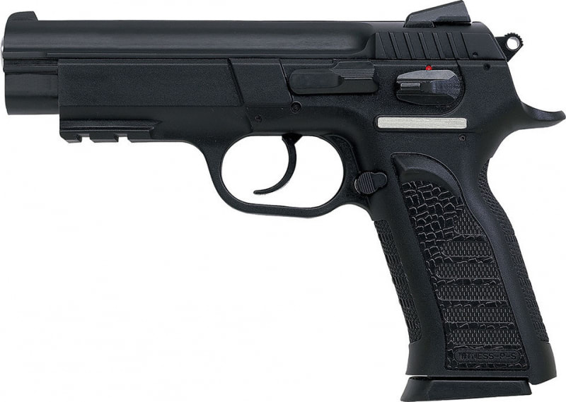 "EAA 999103 Witness Polymer Full Size 40 S&W 4.5"" 14+1 Poly Grip/Frame Black"