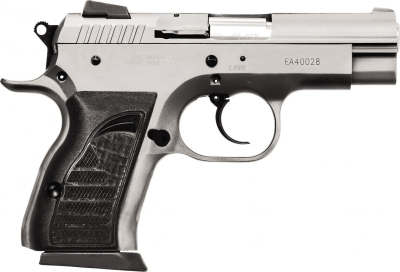 "EAA 999099 Witness Compact Steel 9mm 3.6"" 13+1 AS Black Synthetic Grip Wonder SS Finish"