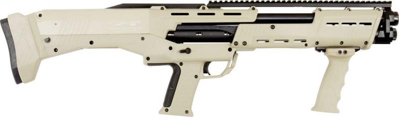 "Standard Mfg DP12 DP-12 Pump 12GA 18.875"" 3"" 14+2 Synthetic Stock Desert Tan"
