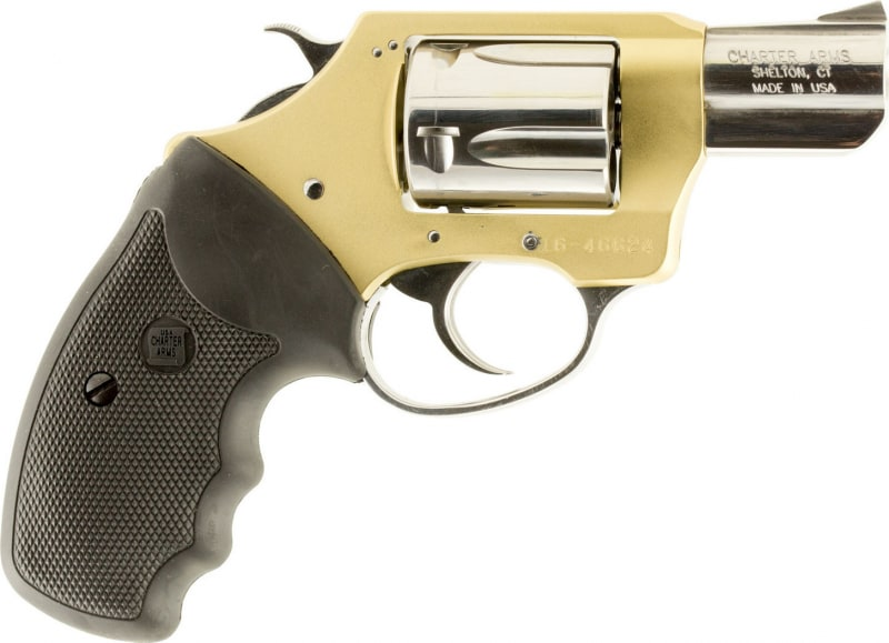"""Charter Arms 53899 Undercover Chic Lady DA/SA 38 Special 2"""" 5 Black Rubber Stainless"""