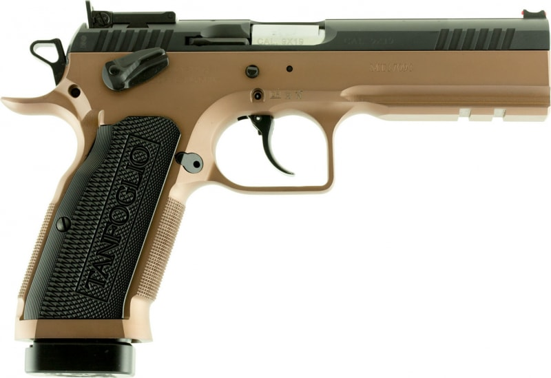 "EAA 610595 Witness Double 9mm 4.5"" 17+1 Aluminum Grip Black"