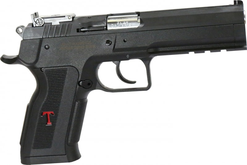 "EAA 600662 Witness Single 9mm Luger 4.75"" 19+1 Black Polymer Grip Black"