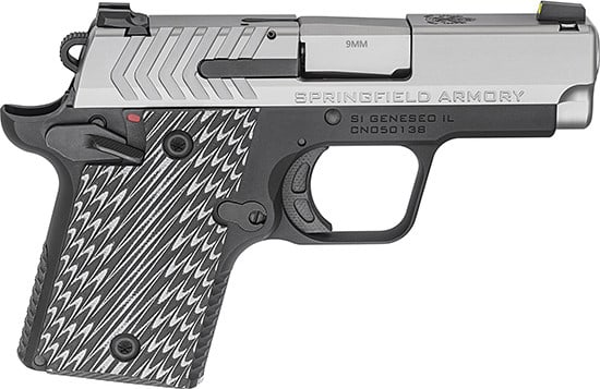 "Springfield PG9119S 911 3"" Nitride SS 6/7rd"