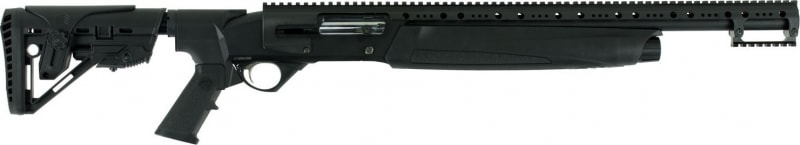 "Hatfield USA12T SAS Semi-Auto 12GA 20"" 3"" 4+1 5-Position Adjustable Synthetic w/ Pistol Grip Black"