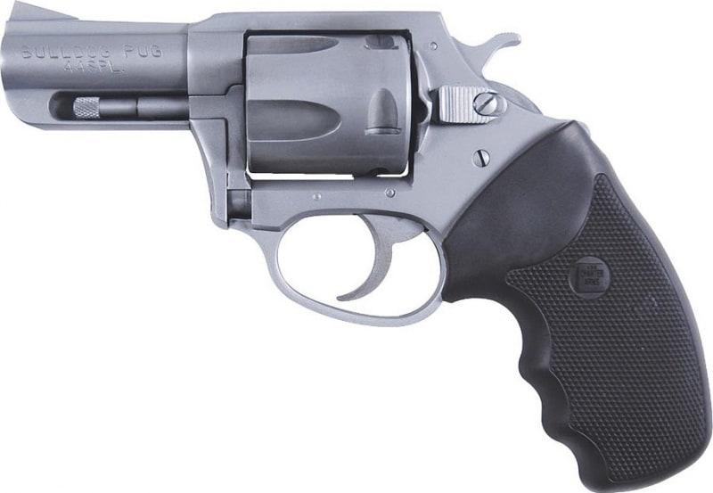 "Charter Arms 74420 Bulldog Standard DA/SA 44 Special 2.5"" 5 Black Rubber Stainless"