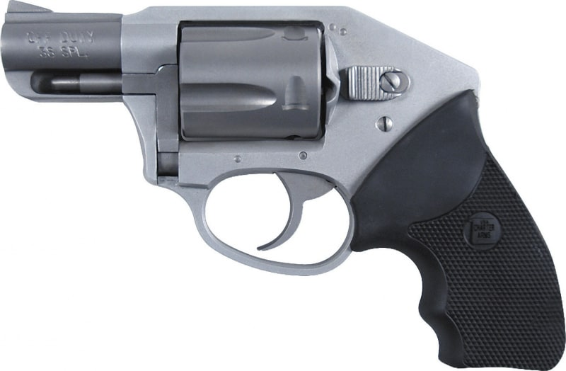 """Charter Arms 53811 Undercover Off Duty Double 38 Special 2"""" 5 Black Rubber Stainless"""