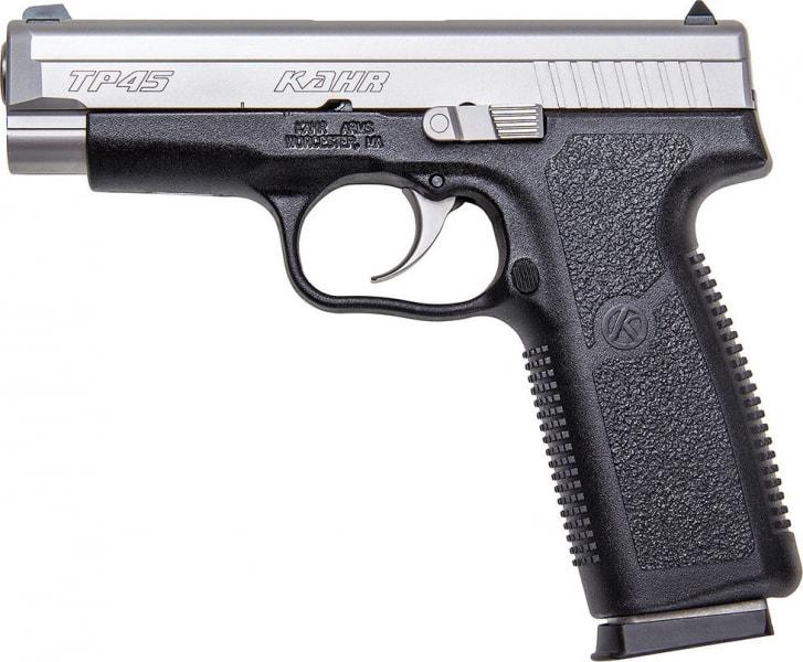 "Kahr Arms TP4543 TP45 DAO 45 ACP 4"" 7+1 Black Polymer Grip Black"