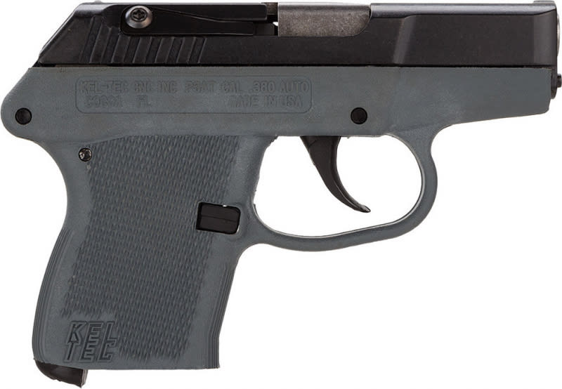 "Kel-Tec P3ATBGRY P-3AT 380 ACP Double 380 ACP 2.7"" 6+1 Gray Polymer Grip Blued"