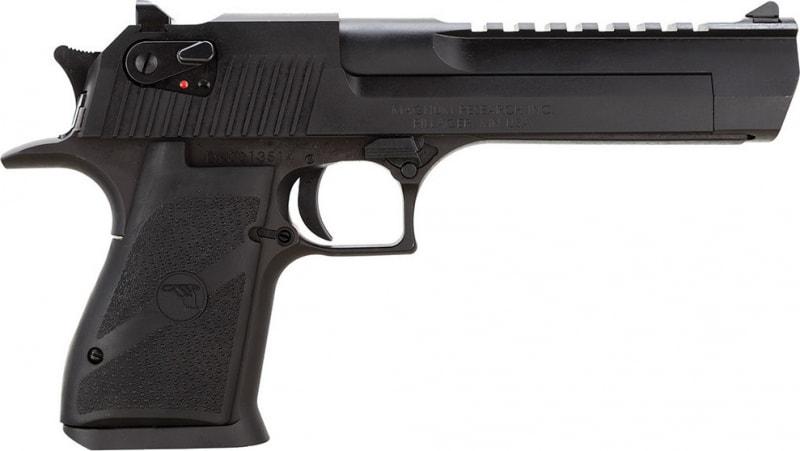 "Magnum Research DE357 Desert Eagle Mark XIX .357 Magnum 6"" 9+1 Black Synthetic Grip Black"