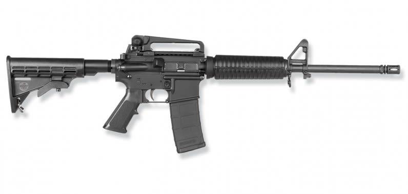 "Bushmaster XM-15 A3 .223 Remington AR-15, 16"" Heavy Barrel Telestock - BF 90280"