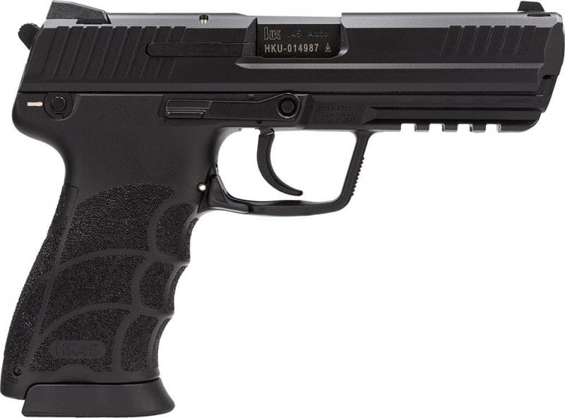 "H&K 745031A5 HK45C 45 ACP DA/SA 8+1 3.9"" Black Synthetic Grip Black Polymer Frame"