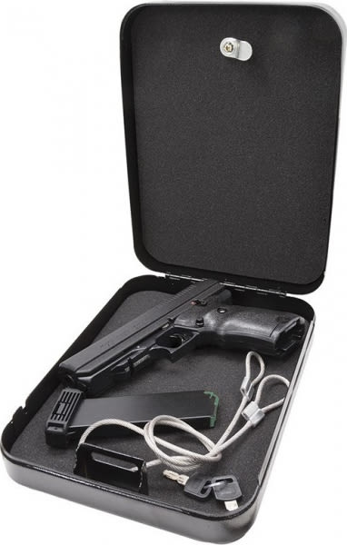 """Hi-Point 34011HSP 40 S&W Pistol, 4.5"""" Home Security Pack Black Poly Grips Finish - 34011HSP"""