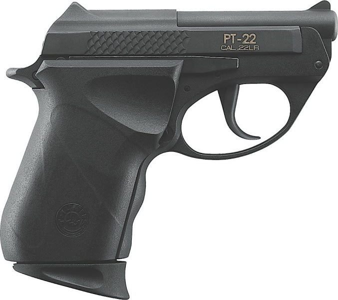 "Taurus 1220031PLY M22 Double 22 LR 2.3"" 8+1 Black Polymer Grip Blued"