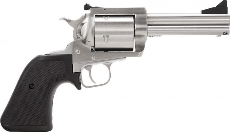 "Magnum Research BFR44MAG5 BFR Short Cylinder Single 44 Magnum 5"" 5 Black Rubber Stainless"